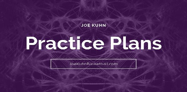 Practice Plan Development ... 4 Completed Practice Plans, Pre-Practice Routines and Practice Plan Template
