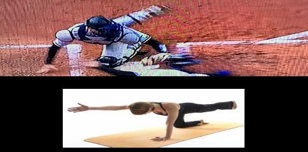 Power Yoga for Sports Baseball Softball Training Kit