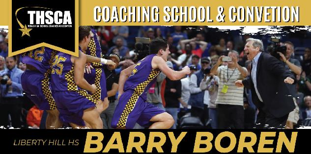 Barry Boren, Liberty Hill High School: Basketball By The Numbers