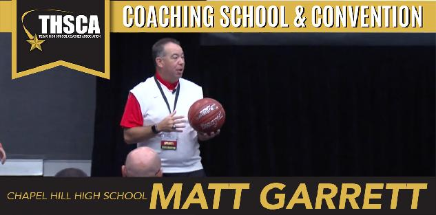 Matt Garrett: Teaching Shooting and Shooting Drills