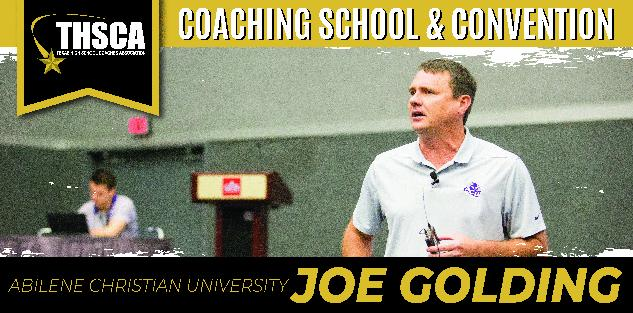 Joe Golding: High/Low Offense Execution