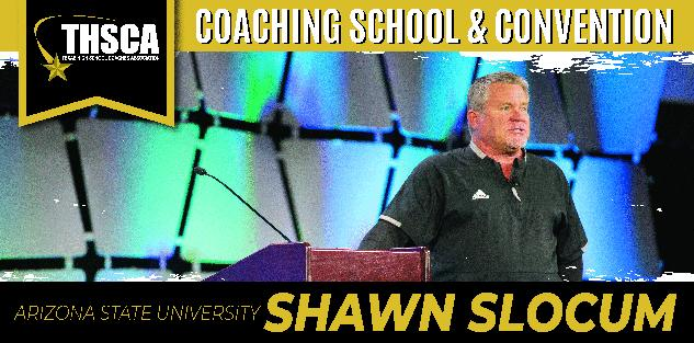 Special Teams Role in Practice & Game Management, Shawn Slocum, Arizona State