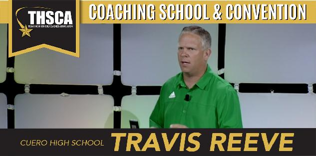 Travis Reeve, Cuero HS - Cuero Inside/Outside Run Game With RPO's