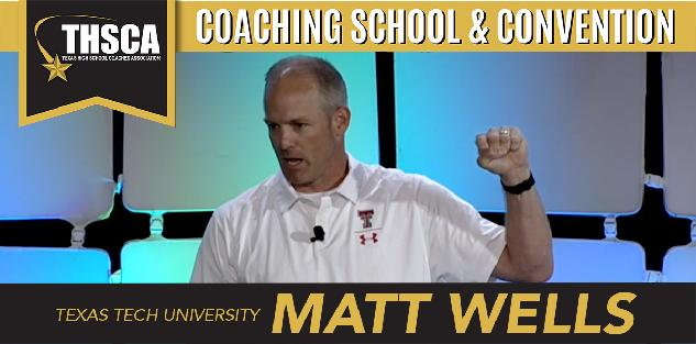 Matt Wells, TTU: Special Teams Teaching Progression - Dominating Kick-Off Returns