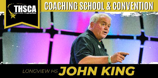 In-Season Practice Organization, John King, Longview HS