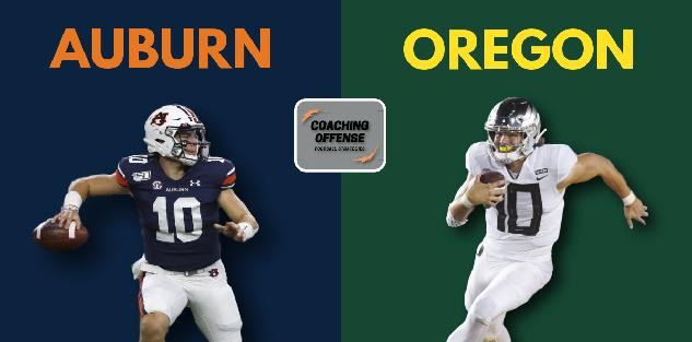 Auburn vs Oregon Offensive Strategy Breakdown