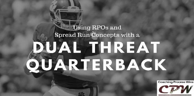 Using RPOs and Spread Run Concepts with a Dual Threat QB