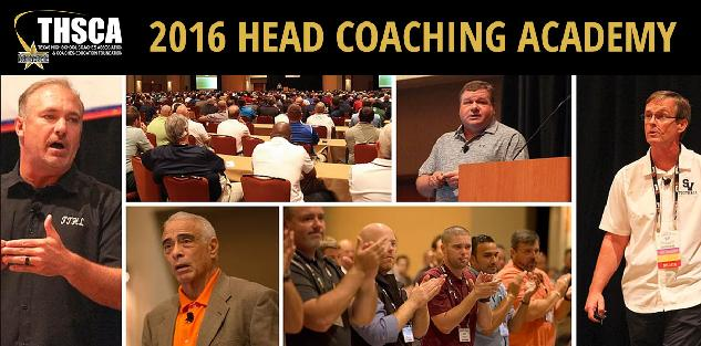 2016 Head Coaching Academy