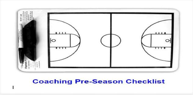 Ultimate Pre-season Checklist for Basketball Coaches