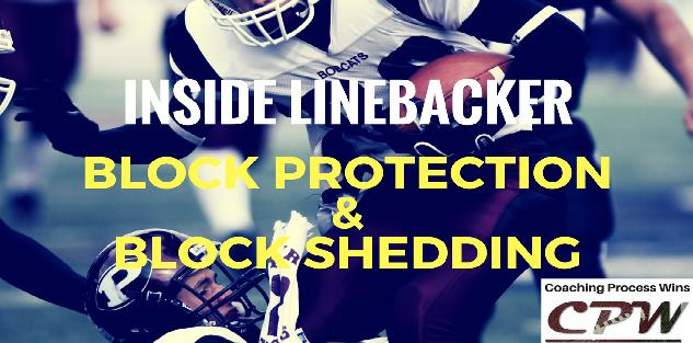 Inside Linebacker Block Protection & Block Shedding