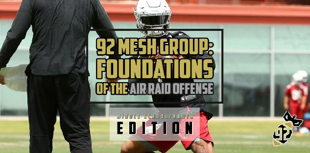 Foundations for the Middle School/Youth Air Raid Offense