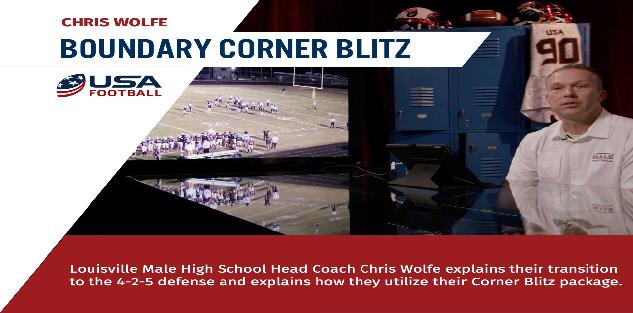 Chris Wolfe - Effective Corner Blitz Package from the 4-2-5 Defense