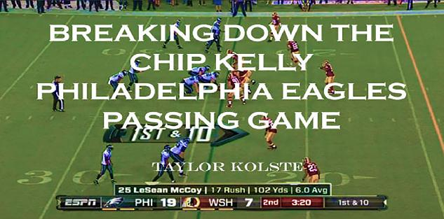 Breaking Down the Chip Kelly Philadelphia Eagle Passing Game