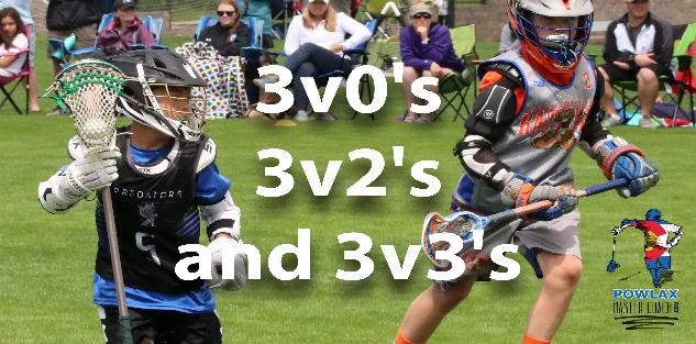 Building Offense and Defense with 3v0`s 3v2`s and 3v3`s | Lacrosse | POWLAX