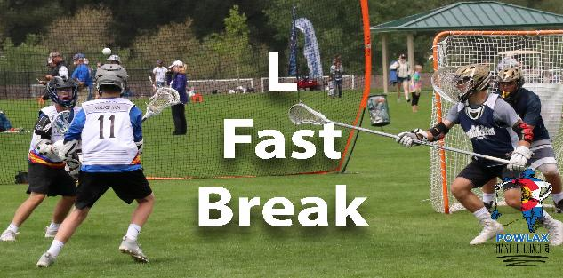 L Fast Break | Offensive and Defensive Transition | Lacrosse | POWLAX