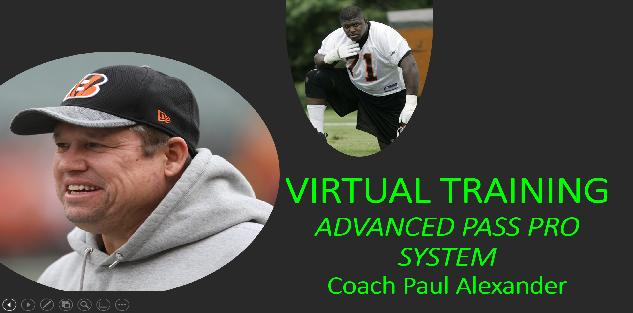 Virtual Coaching Bundle with Coach Paul Alexander and Willie Anderson on Advanced Pass Pro