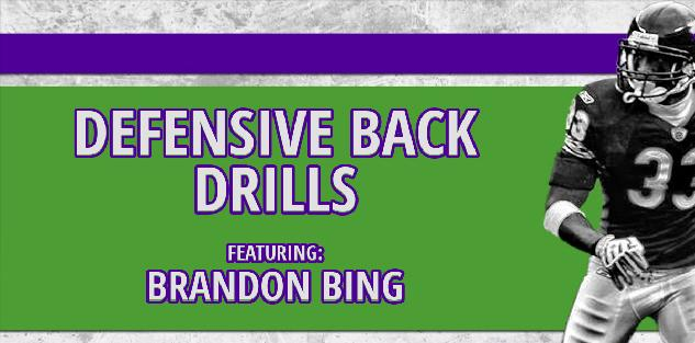 Brandon Bing's Defensive Back Drills