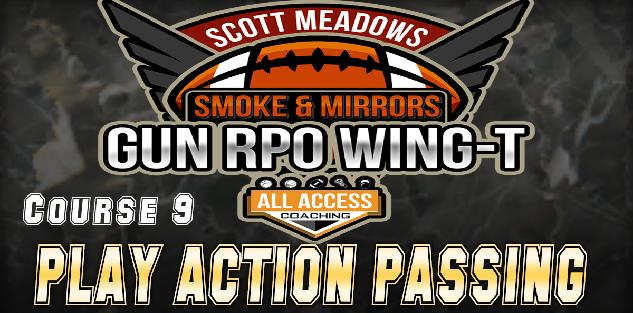 Course 9: Play Action Passing from Shotgun WingT