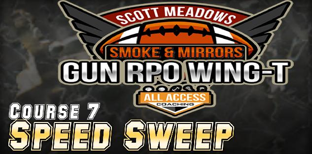 Course 7: Speed Sweep from Shotgun WingT