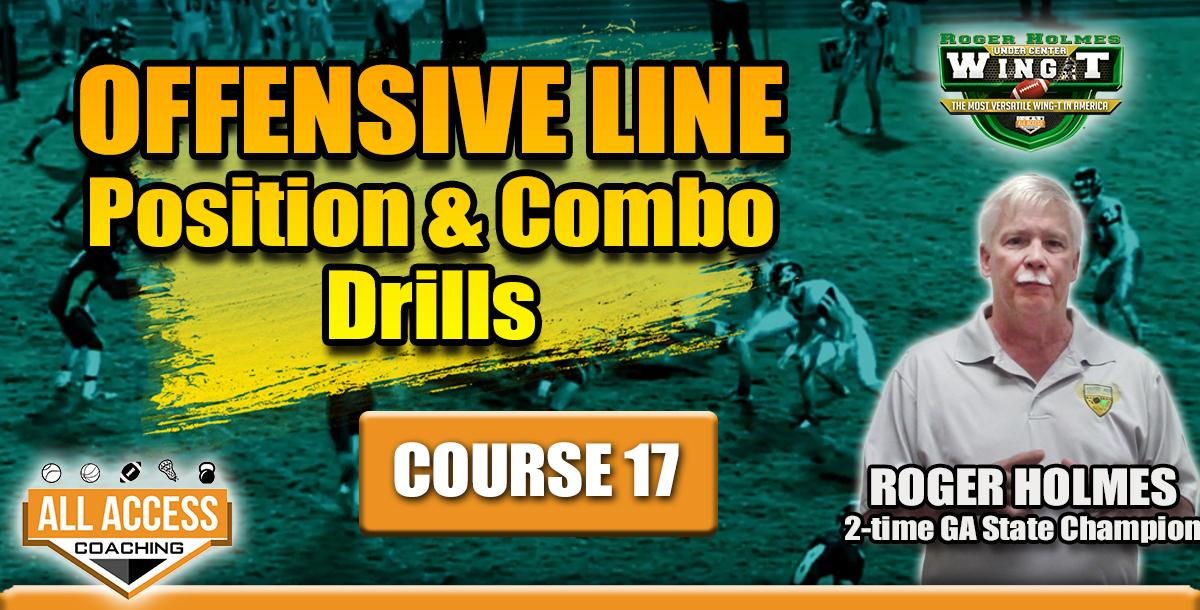 Course 17: OL Position & Combo Drills