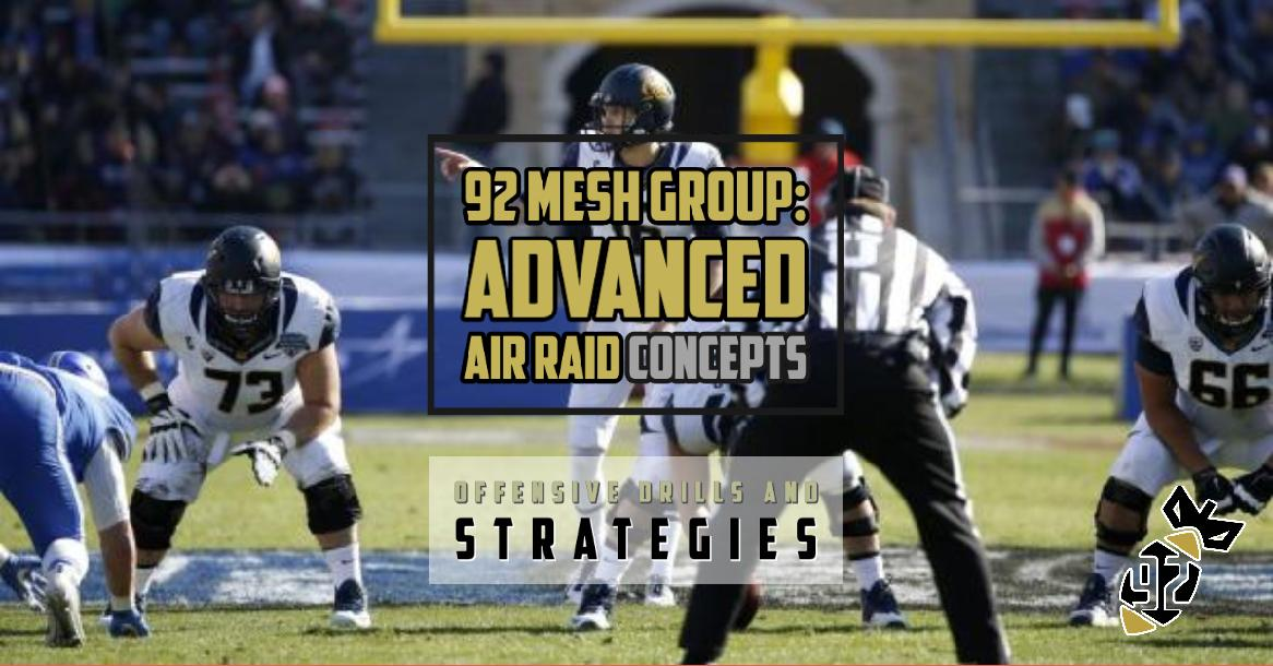 2020 Air Raid Offensive Line Drills and Strategies