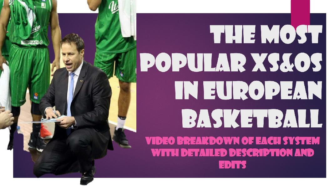 The Most Popular Xs&Os in European Basketball
