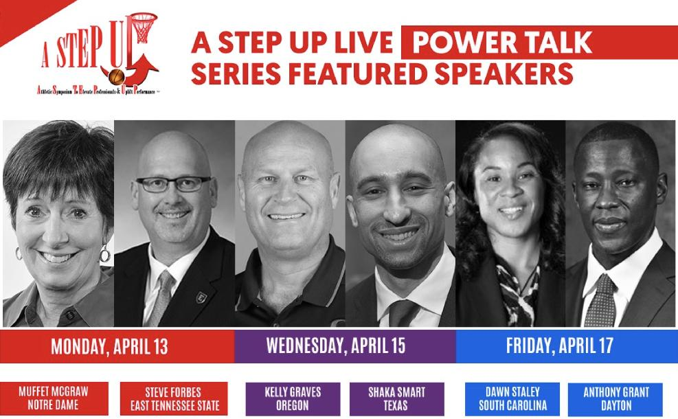 A STEP UP Live Power Talk Series