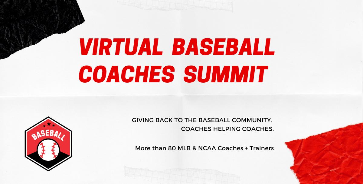 2020 Virtual Baseball Coaches Summit - Complete Speaker Bundle