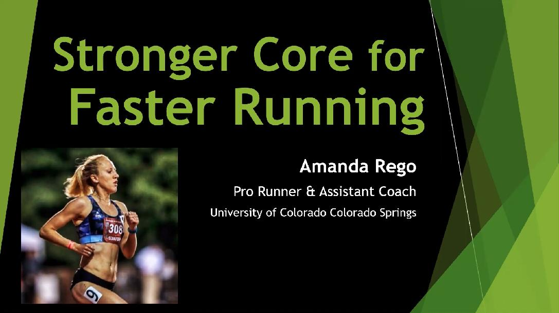 Stronger Core for Faster Running