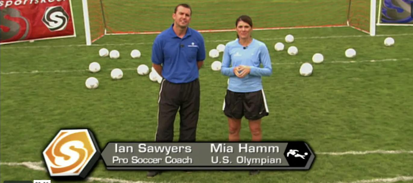 World Cup Soccer with Mia Hamm
