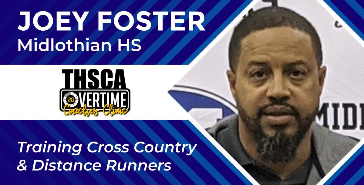 Training the Cross Country/Distance Athlete - Joey Foster