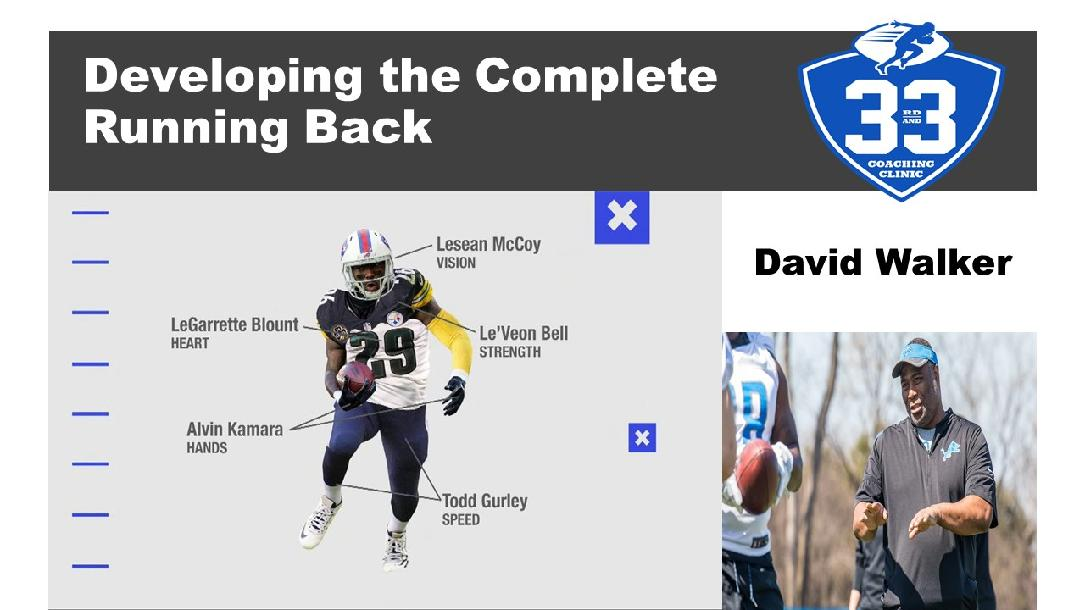 Developing the Complete Running Back