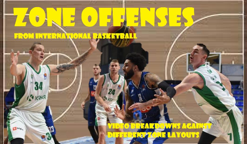 ZONE OFFENSES from International Basketball