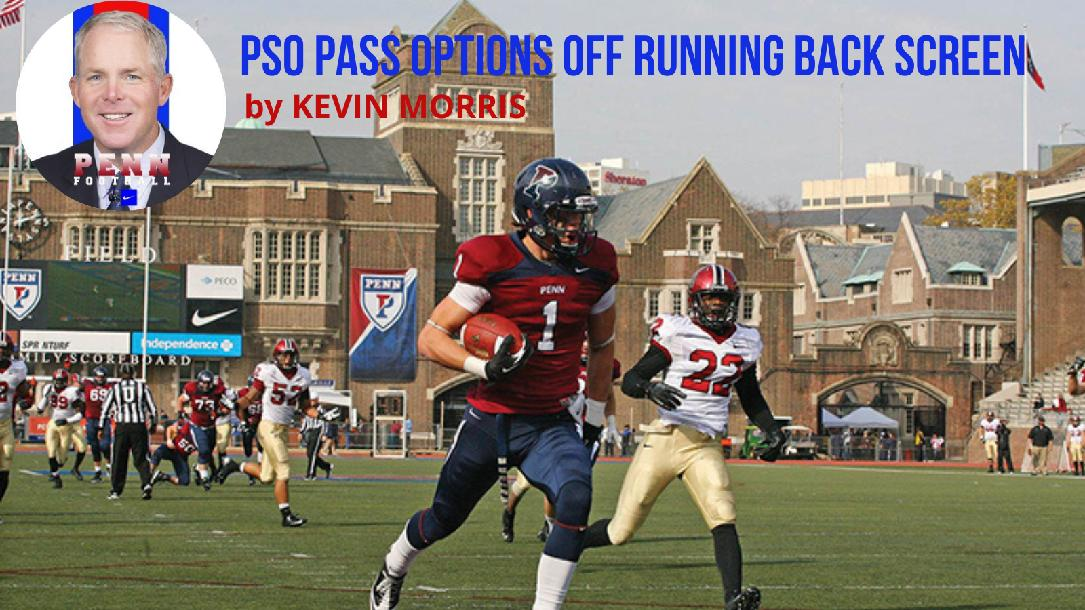 Kevin Morris - PSO Pass Options off Running Back Screen