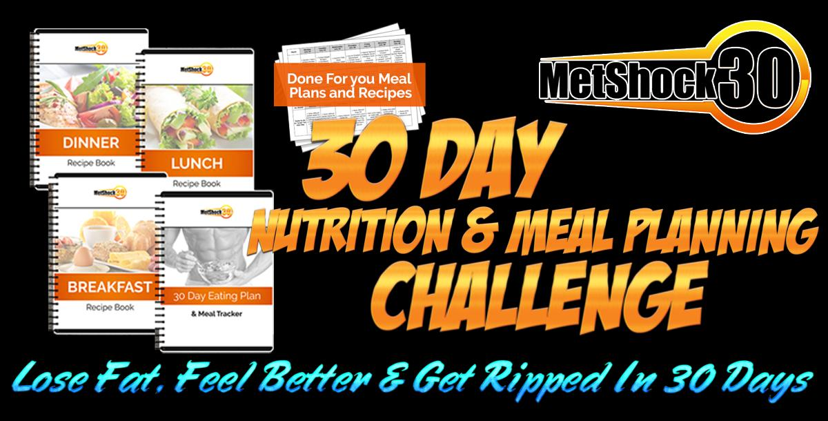 30 Day Meal Planner & Nutrition Challenge