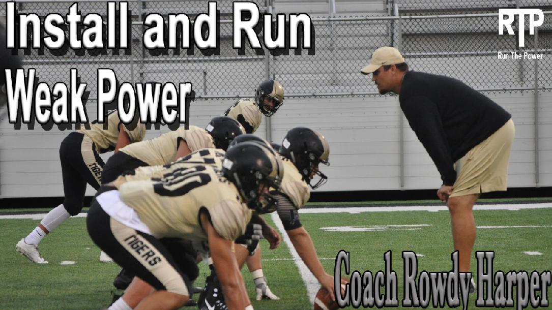 Install and Run Weak Power (O-Line Emphasis)