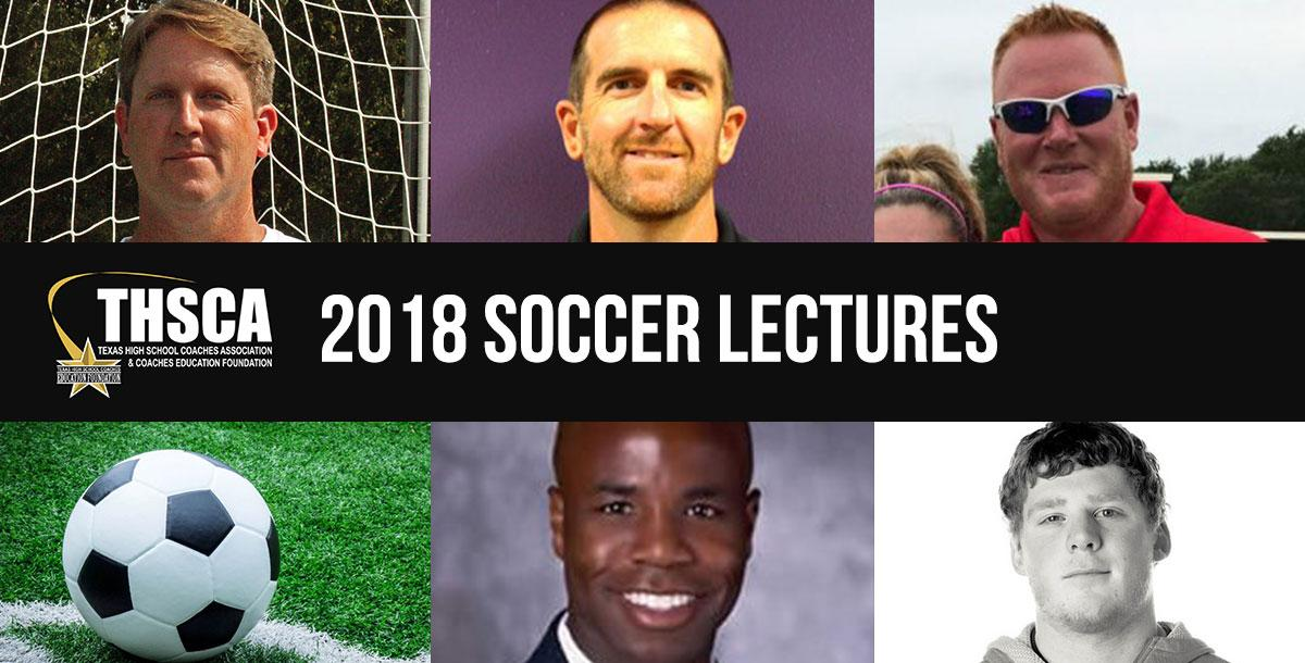 2018 Coaching School Soccer Lectures