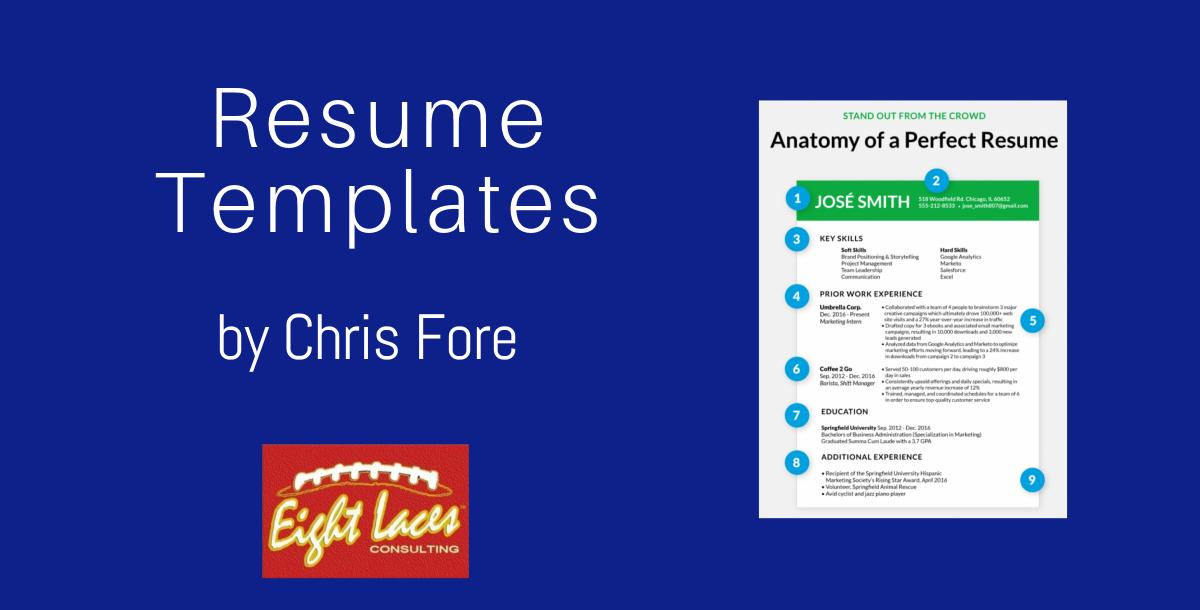 Resume Templates by Chris Fore   CoachTube