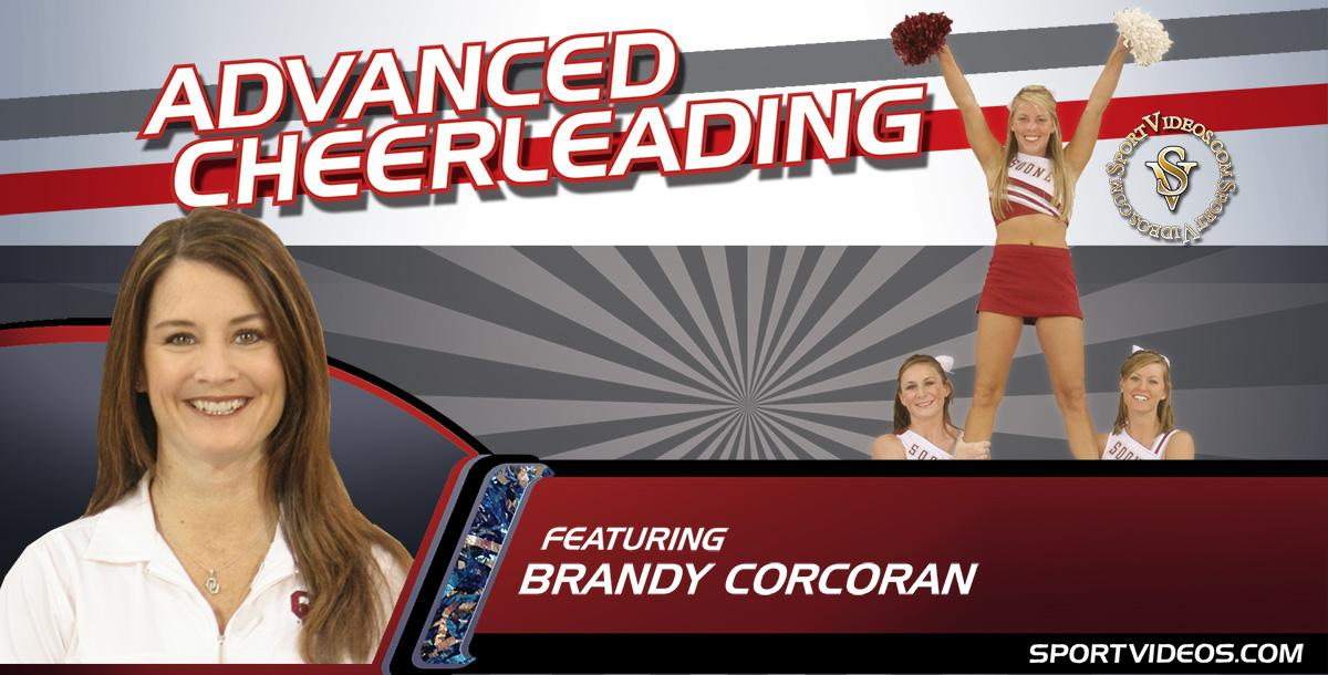 Advanced Cheerleading featuring Coach Brandy Corcoran and OJ Williams