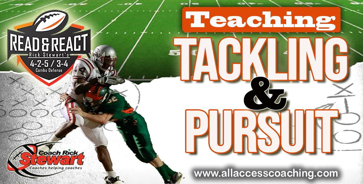 Tackling And Pursuit Drills By Rick Stewart Coachtube