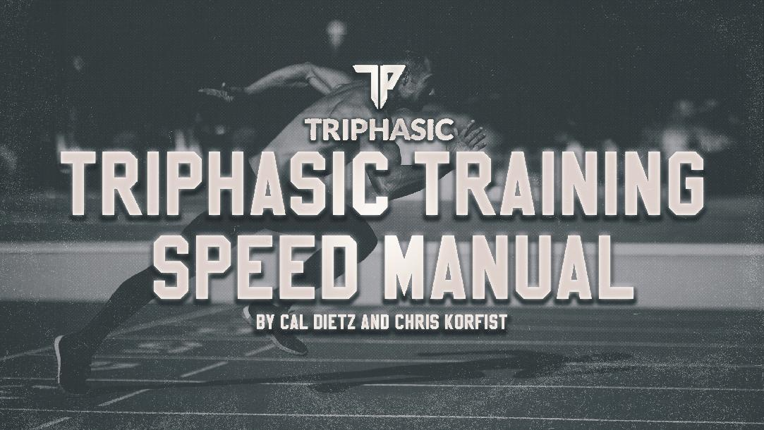 Triphasic Speed Training Manual for Elite Performance: Part 1 The Spring Ankle Model