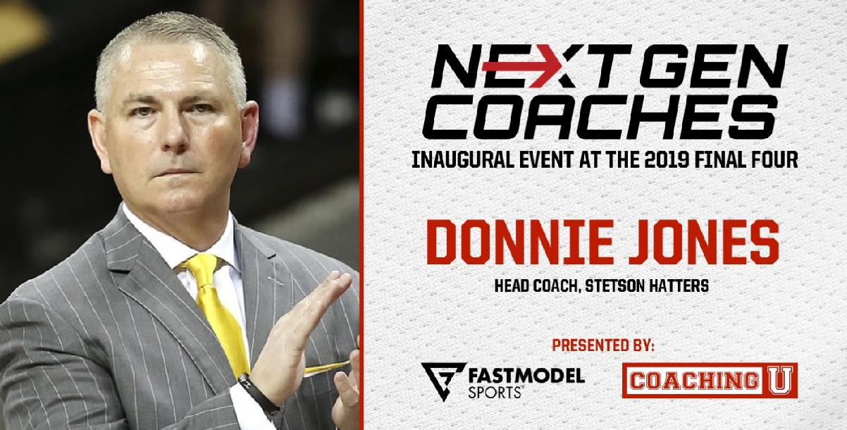 Donnie Jones, Stetson Head Coach: NextGen Coaches Inaugural Event