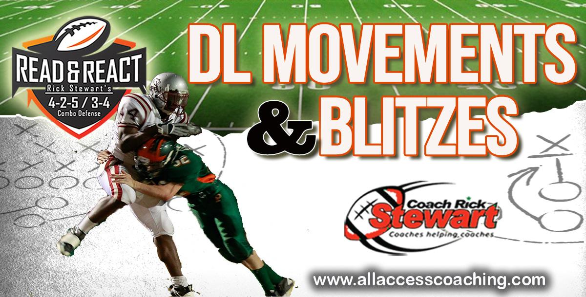 Defensive Line Movements And Linebacker Blitzes By Rick Stewart