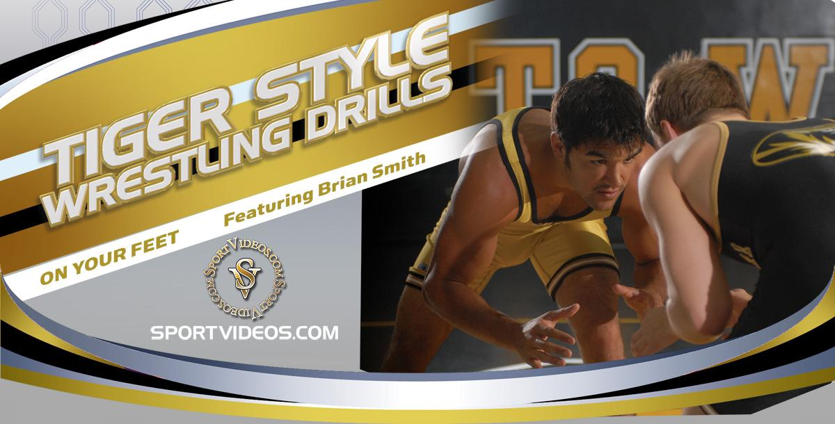 Tiger Style Wrestling Drills On Your Feet featuring Coach Brian Smith