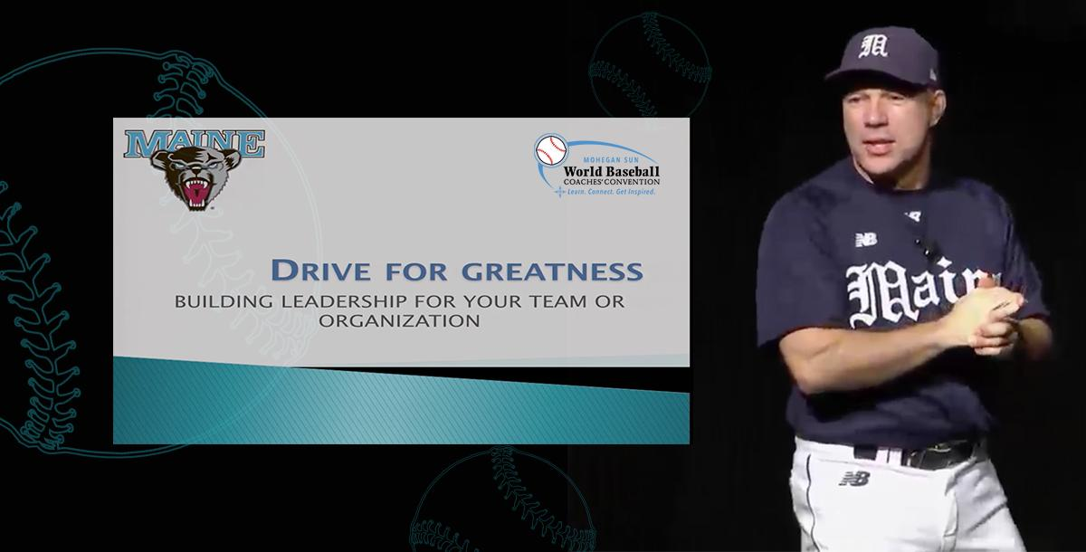 Drive For Greatness: Building Team Leadership