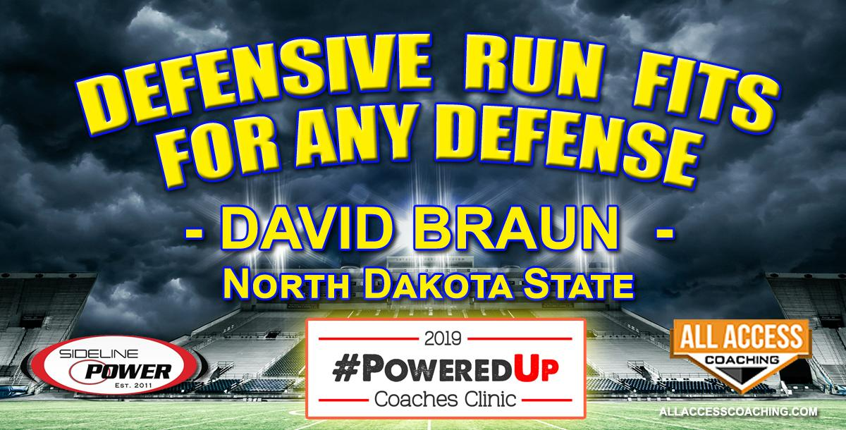 RUN FITS IN ANY DEFENSE -  North Dakota State