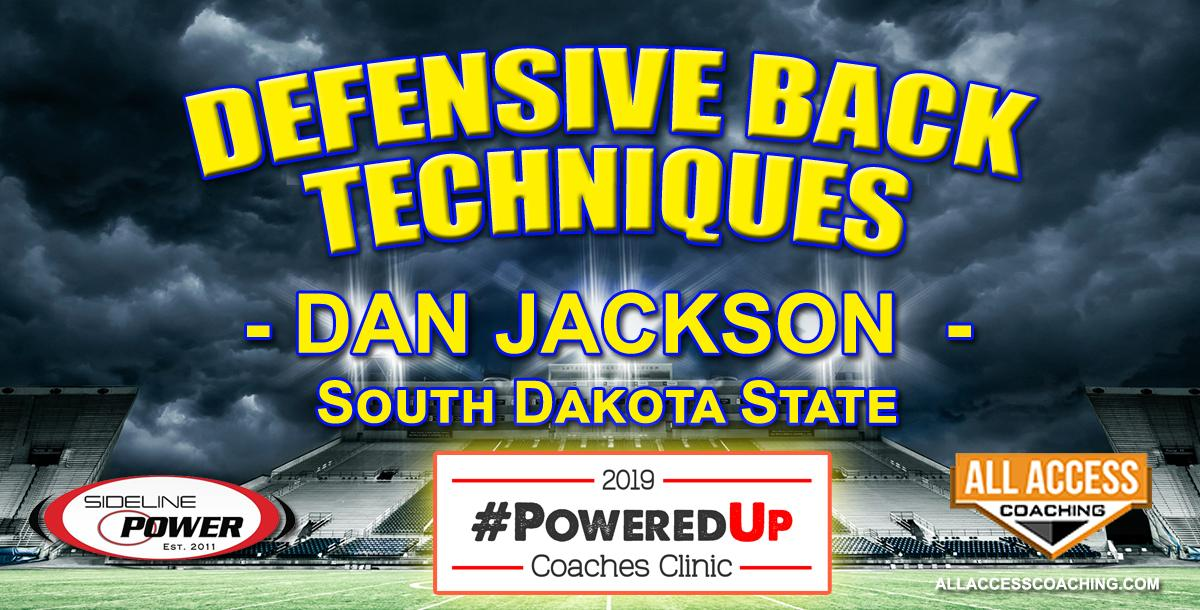 DEFENSIVE BACK TECHNIQUES - South Dakota State