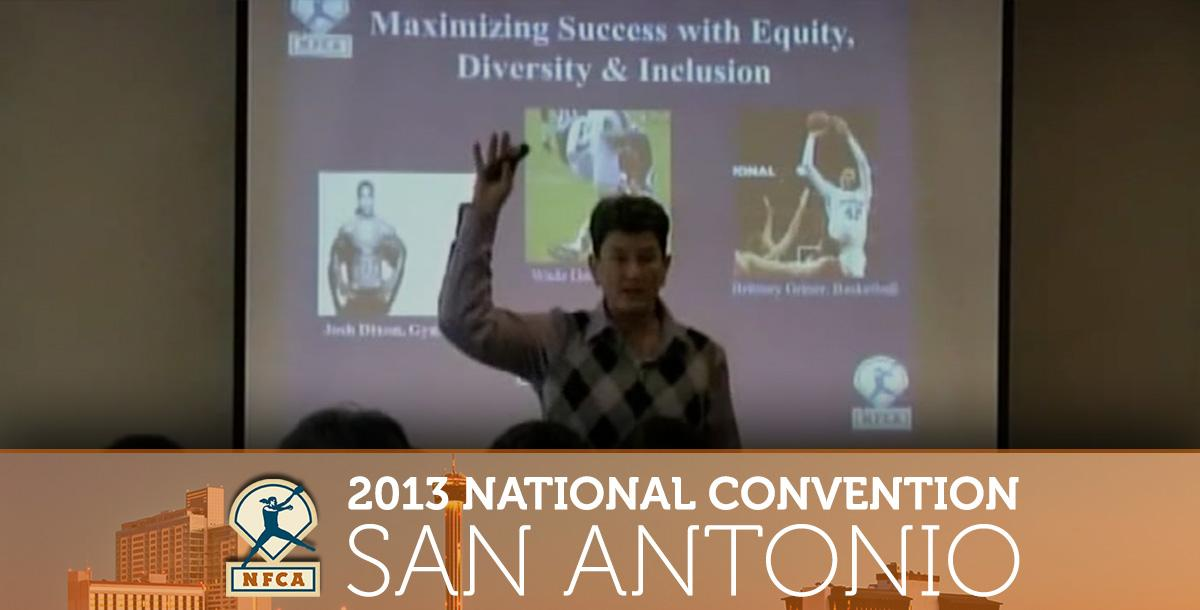 Maximizing Success with Equity, Diversity & Inclusion - Kirk Walker & Dr. Sue Rankin
