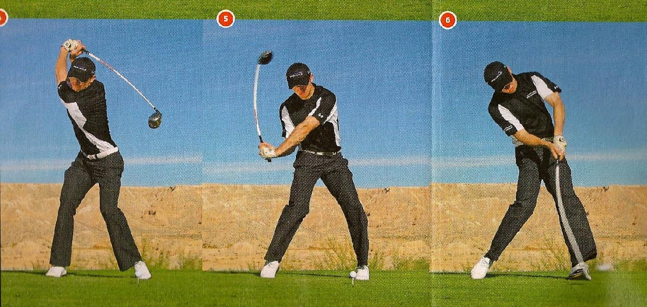 golf swing This is a simple drill that will quickly teach you what a correct shoulder turn should feel like in a great golf swing many amateur golfers, and even pros from time to time.