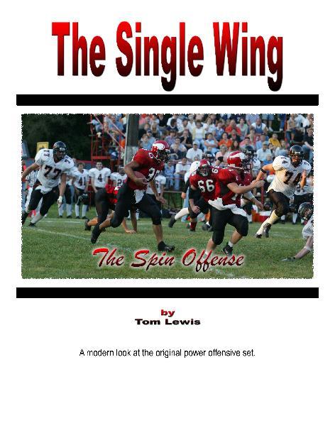 Shortpunter Unbalanced Single Wing Offense By Tom Lewis